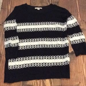 Casual 3/4 Length Sleeves Sweater